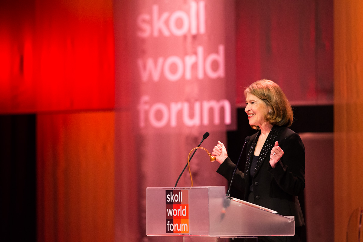 'Tough-Minded Optimism': Savvy Leadership Advice From 17 Years At The Skoll Foundation Helm